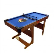 Riley PT20-6D BCE Clifton 6' Folding Pool Table with Table Tennis