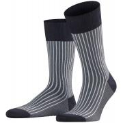 Falke Sokken Oxford Stripe Midnight Navy / male