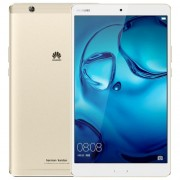 Huawei MediaPad M3 BTV-W09 8.4 inch 4GB+64GB Official Global ROM Fingerprint Identification & Navigation 2K Dazzling Screen EMUI 4.1 (Based on Android 6.0) Kirin 950 Octa Core up to 2.3GHz GPS Dual Band WiFi HiFi (Gold)