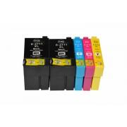 Epson Tintenpatronen Set kompatibel mit Epson C13T27114010 / M / C / Y / 27XL