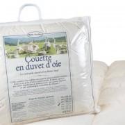 Mille Oreillers Couette en duvet d'oie 220x240 cm - Toutes saisons