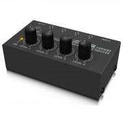 Behringer HA400 MICROAMP Amplificador de auriculares 4 canales
