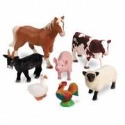 Set 7 figurine mari cu animale domestice - Ferma - Learning Resources