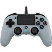 Controller Nacon Wired Compact Color Edition Silver Ps4