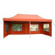 Összecsukható kerti parti sátor PROFI – 3 x 6 m terrakotta