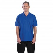 Nisbets Unisex Polo Shirt Royal Blue L Size: L