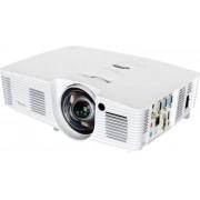 Projector, Optoma W316ST, късофокусен, DLP, 3600LM, WXGA, Full 3D (95.70401GC0E)
