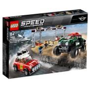 LEGO Speed Champions, 1967 Mini Cooper S Rally si automobil sport 2018 MINI John Cooper Works 75894