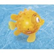 Jucarie De Baie Cu Lumina - Pestisor Puffer inoata in apa ca un peste adevarat si se aprinde