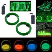 Kit Nocturn Luminos Tuning pentru Roti de Bicicleta Culoare Verde