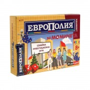 """Детска занимателна игра """"Европолия за момичета"""" от Play Land"""