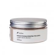 Masca faciala cu argila fuller & vitamina C (ten gras, mixt, acneic) - 250 ml
