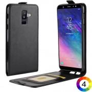 Samsung Galaxy A6 + (2018) Flip3 Кожен Калъф и Скрийн Протектор