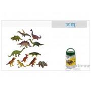 Set figuri dinosaur din plastic, 12 buc.