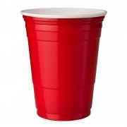 StudyShop Red Cups Röda Plastmuggar (16 Oz.)