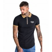 Gianni Kavanagh Polo Gianni Kavanagh Old Gold Details Negro S Small