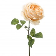 Geen Perzik roze roos kunstbloem 66 cm