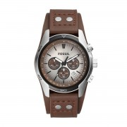 Часовник FOSSIL - Coachman CH2565 Dark Brown/Silver/Steel