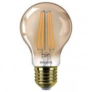 Philips E27 filament flame led-gloeilamp peer dimbaar 8W (50W)