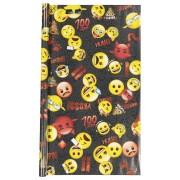HEMA Kaftpapier 2 Vel 100x70 Emoji Boys