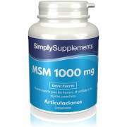 Simply Supplements Metilsulfonilmetano - MSM 1000 mg - 360 Comprimidos