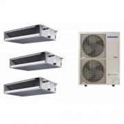 Samsung Climatizzatore SAMSUNG Trialsplit CANALIZZABILE BASSA PREVALENZA 3 X 18000 BTU Con unità esterna da AC140MXADKH R-410 TRIFASE