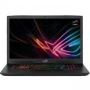 Лаптоп Asus GL703GS-E5011, Intel Core i7-8750H, 17.3 инча 144Hz FHD (1920x1080) AG, G-Sync, 16GB DDR4, 256GB PCIE G3X4 SSD, Черен, 90NR00E1-M00600