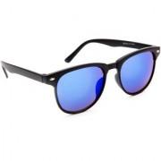 TheWhoop Mirror Blue Wayfarer Unisex Sunglasses Stylish Mercury Wayfarers Goggles For Men Women Girls Boys