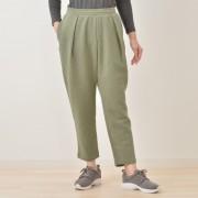 アディダス ビッグリニアスウェット9分丈パンツ【QVC】40代・50代レディースファッション