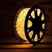 Tubo luminoso flessibile decoLED - luce bianca calda, 50m