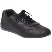 MSC Women Black Slip on Casual Shoes