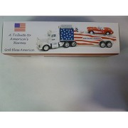 2001 Taylor Made Trucks A Tribute to America's Heroes 9-11-01 Car Carrier Truck with Corvette 1/32