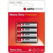 Agfa heavy duty premium set 4 baterii 1.5 v r6 aa