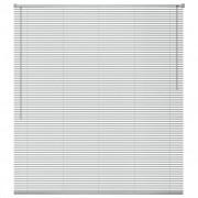 vidaXL Jaluzele fereastră, aluminiu, 120 x 160 cm, argintiu