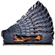 Memorie G.Skill Ripjaws 4 Black 128GB (8x16GB) DDR4 2800MHz CL15 1.35V Intel X99 Ready XMP 2.0 Quad Channel Octo Kit, F4-2800C15Q2-128GRKD