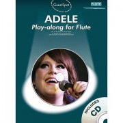 Music Sales Adele - Play-along for Flute Play-Along