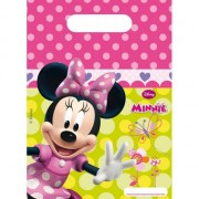Disney Minnie Mouse snoepzakjes 6 stuks