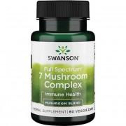 Swanson 7 Mushroom Complex 60 kapsułek