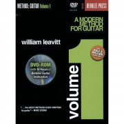 Hal Leonard A Modern Method for Guitar 1 William Leavitt,inkl. DVD