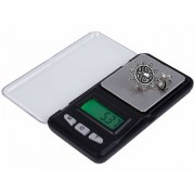 ATOM MH Professional Mini Digital LCD Display Scale with Transparent Cover for Home School Office Kitchen Factory Max Capacity 200g Min Capacity 0.01g