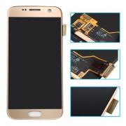 Display Cu Touchscreen Samsung Galaxy S7 G930F Original SWAP Auriu