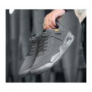 Coreano casual estudiante deportivo hombre zapatos gris