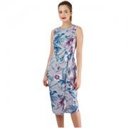 Closet London Rochie pentru femei Closet Tie V-Back Pencil Dress Grey S