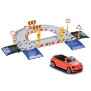 Pista de masini Majorette Creatix Starter Pack cu 1 Masinuta Volkswagen