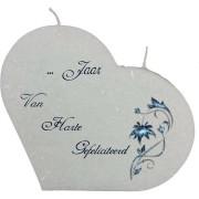 ....jaar van harte gefeliciteerd hartkaars groot
