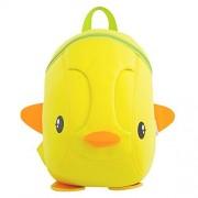 BINGONE NOHOO Kids Shoulder Bag 3D Cartoon Underwater Sea Animal World Yellow Duck