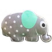 CN'Dragon Creative Animal Pillow Shape Cute Cushion Stuffed Toy Birthday Gift Throw Pillows Plush Toys (Elephant Gray)