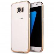 Funda Samsung Galaxy S7 Tpu Electroplating Bordes de colores- Multicolor