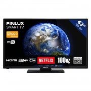 Finlux FL4323SMART TV - Full HD 43 inch DLED smart wifi televisie