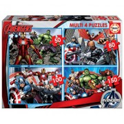 Puzzle multi Avengers, 50-80-100-150 piese